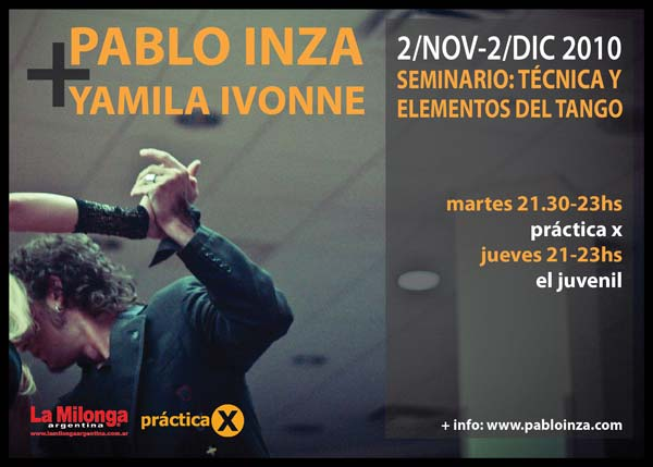 seminario - pablo inza + yamila ivonne