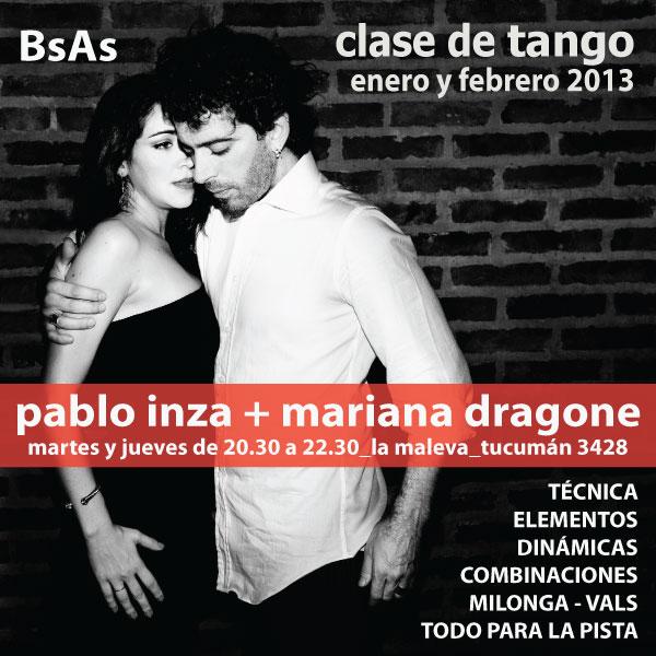 Seminario de Verano - PABLO INZA y MARIANA DRAGONE