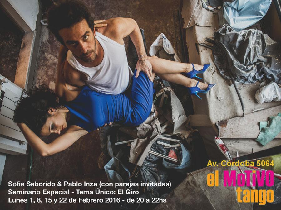 Pablo Inza & Sofia Saborido - Seminario El Motivo 2016